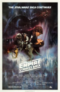 "Movie Posters:Science Fiction, The Empire Strikes Back (20th Century Fox, 1980). One Sheet (27"" X41"") Flat Folded Style A.. ..."