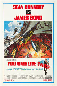 "You Only Live Twice (United Artists, 1967). One Sheet (27"" X 41"") Style A"