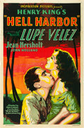 "Movie Posters:Adventure, Hell Harbor (United Artists, 1930). One Sheet (27"" X 41"").. ..."