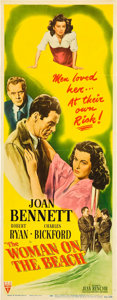 "Movie Posters:Film Noir, Woman on the Beach (RKO, 1947). Insert (14"" X 36"").. ..."