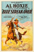 "Movie Posters:Western, Blue Streak O'Neil (Bud Barsky, 1926). One Sheet (27"" X 41"").. ..."