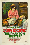 "Movie Posters:Western, The Phantom Buster (Pathé, 1927). One Sheet (27"" X 41"").. ..."