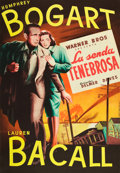 "Movie Posters:Film Noir, Dark Passage (Warner Brothers, 1947). Spanish One Sheet (27"" X38"").. ..."