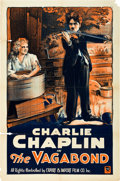"Movie Posters:Comedy, The Vagabond (Export & Import, R-1920s). One Sheet (27"" X41"").. ..."