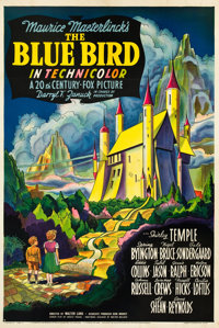 "The Blue Bird (20th Century Fox, 1940). One Sheet (27"" X 41"") Style B"