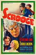"Movie Posters:Drama, Scrooge (Paramount, 1935). One Sheet (27"" X 41"").. ..."