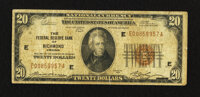 Fr. 1870-E $20 1929 Federal Reserve Bank Note. Very Good-Fine