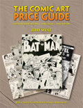 Books, THE COMIC ART PRICE GUIDE, Illustrated Guide with Price Range Va. ..