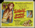 "Movie Posters:Adventure, Liane, Jungle Goddess (DCA, 1958). Half Sheet (22"" X 28"").Adventure.. ..."
