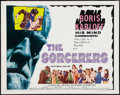 "Movie Posters:Horror, The Sorcerers (Allied Artists, 1967). Half Sheet (22"" X 28""). Horror.. ..."