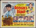 "Movie Posters:Sports, Roogie's Bump (Republic, 1954). Half Sheet (22"" X 28""). Style B. Sports.. ..."