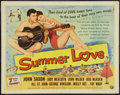 """Movie Posters:Rock and Roll, Summer Love (Universal International, 1958). Half Sheet (22"""" X28""""). Rock and Roll.. ..."""