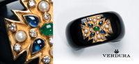 Benefiting Scottish Rite Hospital for Children Lot 1: Vintage Maltese Cross Cuff by Verdura Value