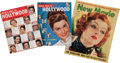 Memorabilia:Movie-Related, Movie Related Magazines Group (Various Publishers, 1930s-50s)....(Total: 7 Items)