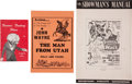 Memorabilia:Movie-Related, Hollywood Memorabilia Group (Various Publishers, 1950s-60s)....(Total: 24 Items)