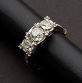 Estate Jewelry:Rings, Antique Diamond & Gold Ring. ...