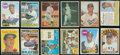 Baseball Cards:Lots, 1950's-1970's Topps, Fleer & Post Cereal Baseball Stars &HoFers (60). ...