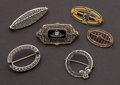 Estate Jewelry:Brooches - Pins, Six Antique Gold Pins. ... (Total: 6 Items)