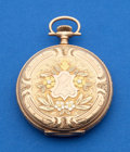 Timepieces:Pocket (post 1900), Illinois 12 Size 14k Multicolor Hunters Case . ...