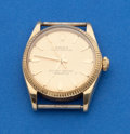 Timepieces:Wristwatch, Rolex 3/4 Size 14k Gold Oyster. ...