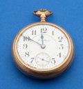 Timepieces:Pocket (post 1900), South Bend 18 Size Grade 313. ...