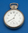 Timepieces:Pocket (post 1900), Howard Sharp 21 Jewel Series 11 Railroad Chronometer. ...