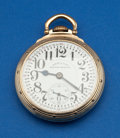 Timepieces:Pocket (post 1900), Hamilton Interesting 23 Jewel 950 B, Serial Number S310. ...