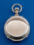 Timepieces:Pocket (pre 1900) , Elgin Coin Silver 18 Size Box Hinge Hunters Case. ...