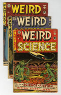 Golden Age (1938-1955):Science Fiction, Weird Science #6-9 Group (EC, 1951).... (Total: 4 Comic Books)