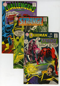DC Silver Age Science Fiction Group (DC, 1960s) Condition: Average VG/FN.... (Total: 24 Comic Books)