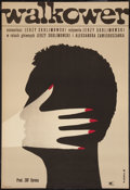 """Movie Posters:Sports, Walkover (CWF, 1965). Polish One Sheet (22.75"""" X 33""""). Sports.. ..."""