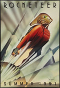 "Movie Posters:Action, The Rocketeer (Walt Disney Pictures, 1991). Autographed One Sheet (27"" X 40"") DS Advance. Action.. ..."