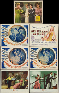 "Gigi and Others Lot (MGM, 1958). Title Card and Lobby Cards (6) (11"" X 14""). Musical. ... (Total: 7 Items)"