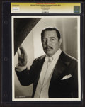 """Movie Posters:Mystery, Warner Oland in """"Bulldog Drummond Strikes Back"""" by Kenneth Alexander (United Artists, 1934). CGC Graded Portrait Photo (8"""" X..."""