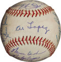 Autographs:Baseballs, 1959 Chicago White Sox Team Signed Baseball....