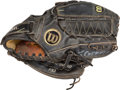 Baseball Collectibles:Others, Tommy Greene Game Worn Glove....