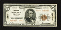 National Bank Notes:Colorado, Denver, CO - $5 1929 Ty. 2 The American NB Ch. # 12517. ...