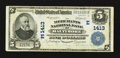 National Bank Notes:Maryland, Baltimore, MD - $5 1902 Plain Back Fr. 606 The Merchants NB Ch. #(E)1413. ...