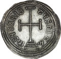 Ancients:Byzantine, Ancients: Theophilus (AD 829-842). AR miliaresion (2.14 gm). ...