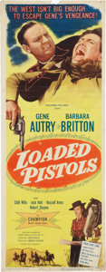 Memorabilia:Poster, Loaded Pistols Movie Poster (Columbia Pictures, 1948)....
