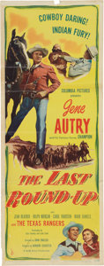 Memorabilia:Poster, The Last Round Up Movie Poster (Columbia Pictures, 1948)....