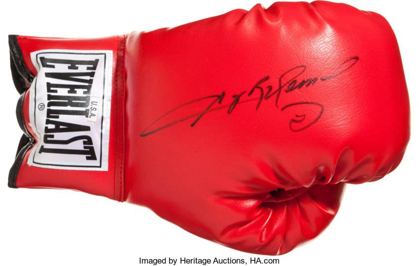 2ccf63690da Sugar Ray Leonard Signed Glove.... Boxing Collectibles Autographs ...