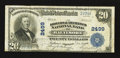 National Bank Notes:Maryland, Baltimore, MD - $20 1902 Plain Back Fr. 659 The Drovers &Mechanics NB Ch. # 2499. ...