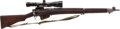Long Guns:Bolt Action, British No. 4, Mark 1 Bolt Action Rifle with Telescopic Sight....
