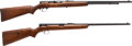 Long Guns:Semiautomatic, Lot of Two Assorted Semi-Automatic Rifles (Winchester &Stevens), 74 & 87A....