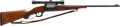 Long Guns:Lever Action, .250/3000 Savage Model 99 Lever Action Rifle with Telescopic Sight....