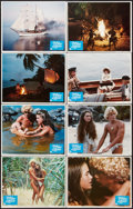 "Movie Posters:Adventure, The Blue Lagoon (Columbia, 1980). Lobby Card Set of 8 (11"" X 14"")and Australian Day Bill (13"" X 29.75""). Adventure.. ... (Total: 9Items)"
