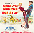 "Movie Posters:Drama, Bus Stop (20th Century Fox, 1956). Six Sheet (81"" X 81"").. ..."