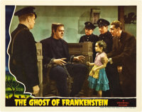 """The Ghost of Frankenstein (Universal, 1942). Lobby Card (11"""" X 14"""")"""