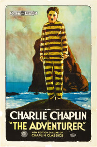 "The Adventurer (Select Pictures, R-Early 1920s). One Sheet (27"" X 41"")"